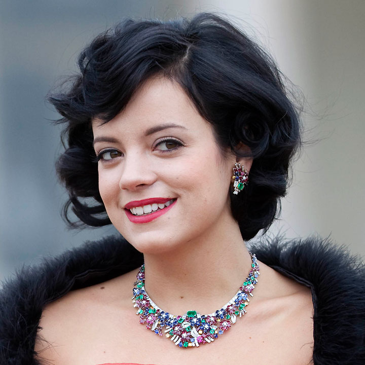 lily allen annonce son mariage actu people. Black Bedroom Furniture Sets. Home Design Ideas