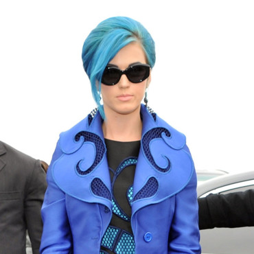 Katy Perry chez Viktor & Rolf Fashion Week mars 2012