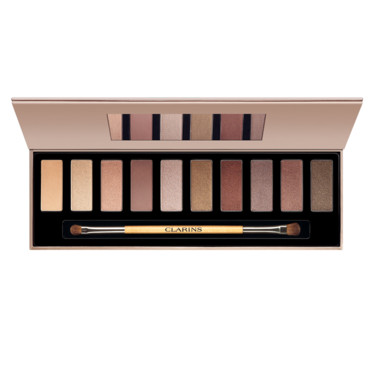 Palette maquillage yeux The Essentials Clarins à 43 euros