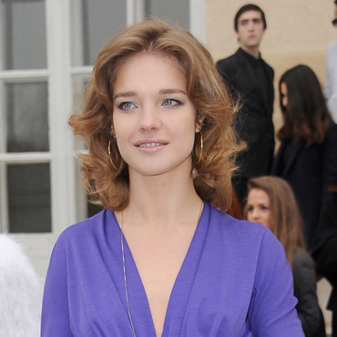 Natalia Vodianova chez Dior Fashion Week mars 2012