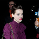 Roxane Mesquida chez Yves Saint Laurent Fashion Week Paris mars 2012