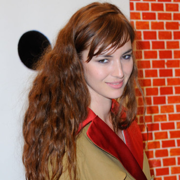 Louise Bourgoin à l'ouverture de l'édition 2012 de la FIAC (Foire Internationale de l'Art Contemporain), au Grand Palais à Paris, le 17 octobre 2012