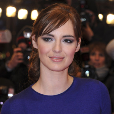 "Louise Bourgoin lors de la projection du film ""La Religieuse"" lors du Festival International du Film de Berlin, le 10 février 2013."