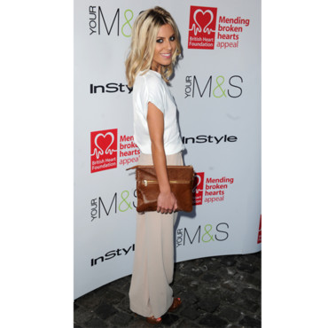 Mollie King lors de la soirée British Heart Foundation Tunnel of Love event in Camden à Londres