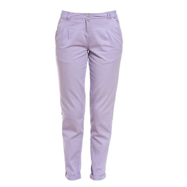 Pantalon chino violet New Look 17,20e