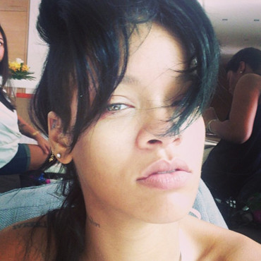Rihanna au naturel sur Instagram