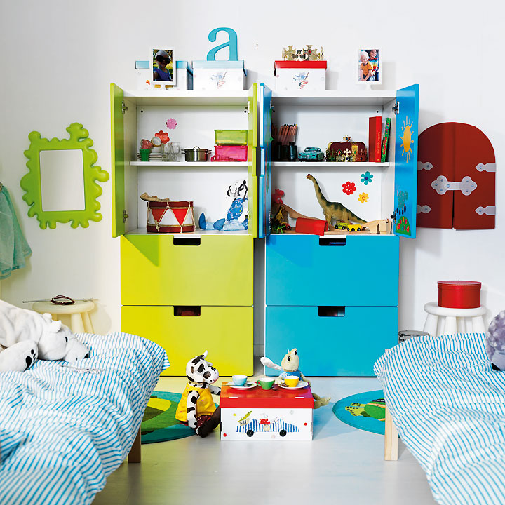 d couvrez les nouveaut s ikea 2011 en avant premi re chambre d 39 enfant stuva ikea d co. Black Bedroom Furniture Sets. Home Design Ideas