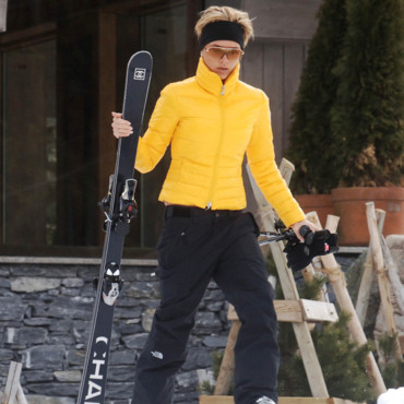 Victoria Beckham à Courchevel