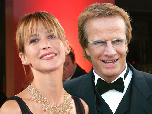 Christopher Lambert couple