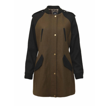 Le manteau officier Asos
