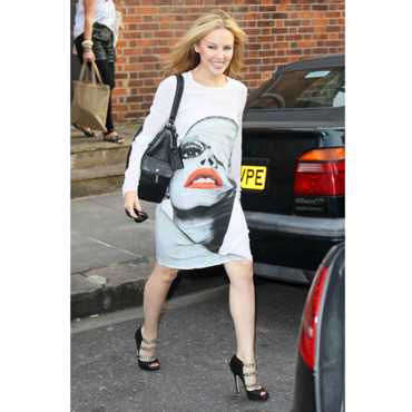 Look du jour Kylie Minogue