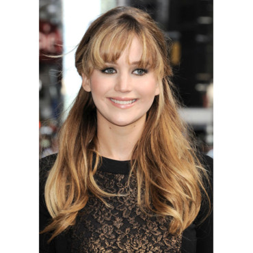 La coiffure preppy de Jennifer Lawrence