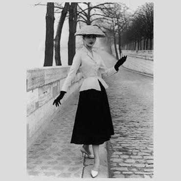 Le New Look de Christian Dior en 1947