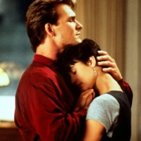 Photo : Patrick Swayze et Demi Moore, couple culte dans Ghost