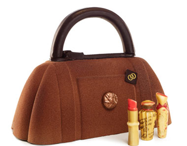 Chocobag marron Catherine-Cluizel