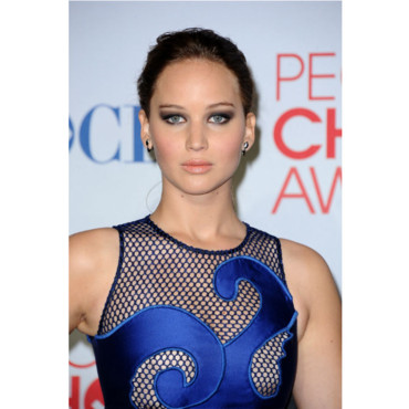 Le beauty look fatal de Jennifer Lawrence