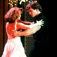 Photo : Patrick Swayze et Jennifer Grey, danseurs stars dans Dirty Dancing.