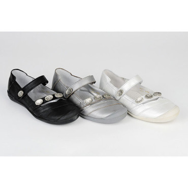 Les ballerines Silver Shoes TTY