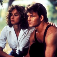 Photo : Patrick Swayze et Jennifer Grey dans Dirty Dancing
