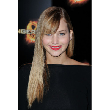 Le brushing baguette de Jennifer Lawrence