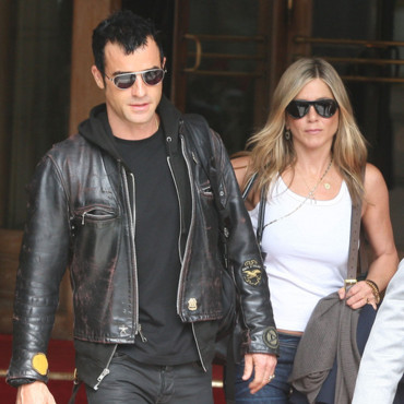 Jennifer Aniston et Justin Theroux en visite à Paris