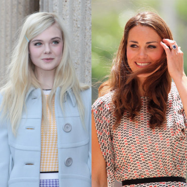 Kate Middleton et Elle Fanning