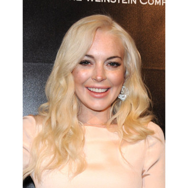 Lindsay Lohan Lohan Golden Globes after party janvier 2012