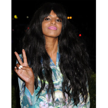 M.I.A Gala Costume Institute mai 2012 coiffure volume