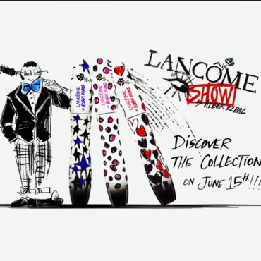 Extrait du clip promotionnel de la collection Alber Elbaz x Lancôme