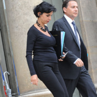 Photo : Rachida Dati enceinte