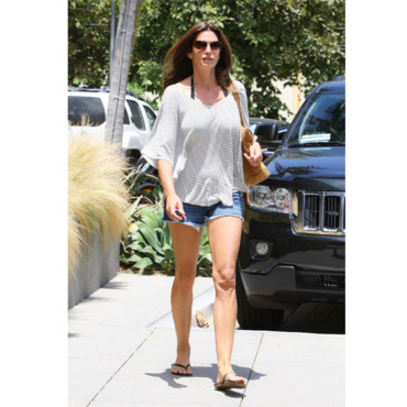 Cindy Crawford le 08 juillet 2012