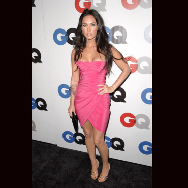 Megan Fox en robe pink
