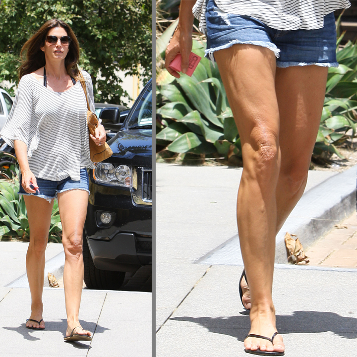 Cindy Crawford alerte cellulite