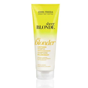 shampooing eclaircissant john frieda - Shampoing Colorant Blond