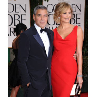 Stacy Keibler et Georges Clooney