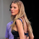 Blake Lively pour Gossip Girl à New York