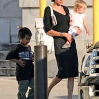 Photo : Angelina Jolie, Maddox et Shiloh