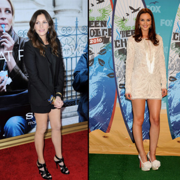 Top Flop Julia Roberts vs.Leighton Meester
