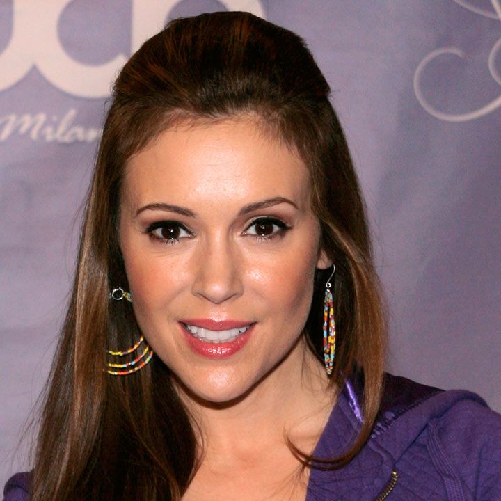 alyssa milano est enceinte actu people. Black Bedroom Furniture Sets. Home Design Ideas