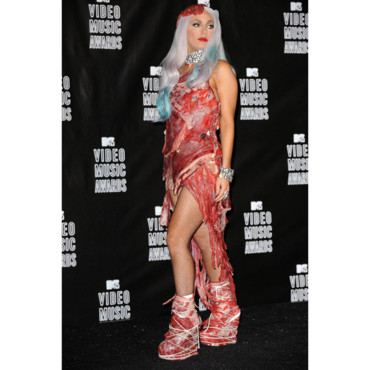 Lady Gaga au Video Music Awards en septembre 2010