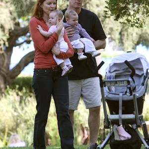 People : Marcia Cross en famille