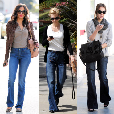 Star Style le jeans flare