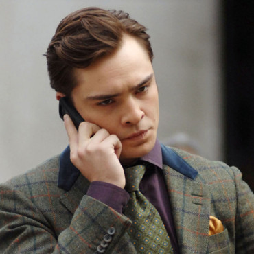 Ed Westwick pour Gossip Girl à New York