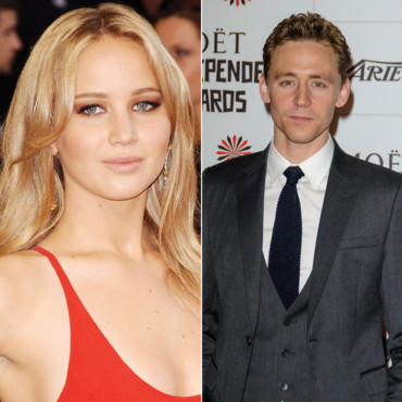 Jennifer Lawrence et Tom Hiddleston