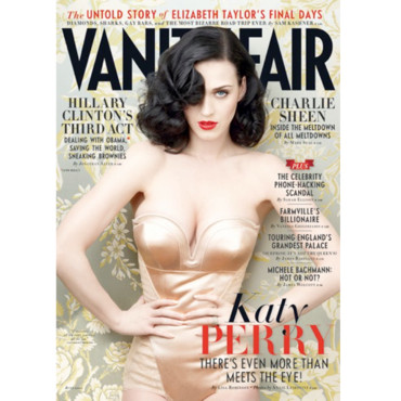 Katy Perry en couverture de Vanity Fair (Juin 2011)