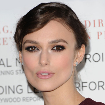 Keira Knightley maquillage rose