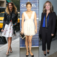 Jennifer Lopez, Valrie Trierweiler... best of mode de la semaine 