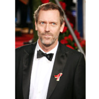 Photo : Hugh Laurie aux Golden Globes 2010