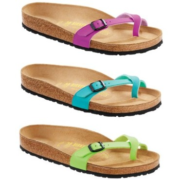Tongs Birkenstock - de 37,95 € à 39,95 €