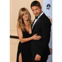 Photo : Jennifer Aniston et Gerard Butler aux Golden Globes 2010